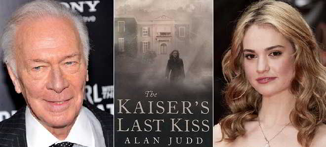 Lily James e Christopher Plummer juntos em 'The Kaiser's Last Kiss'
