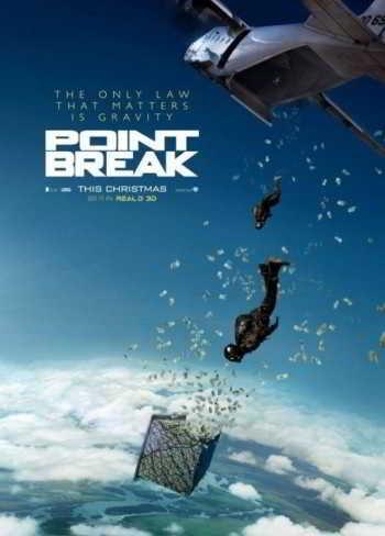 Point Break_remake poster