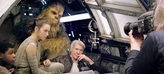 'Star Wars: O Despertar da Força': Reveladas imagens inéditas