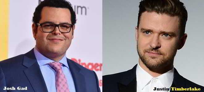 Justin Timberlake e Josh Gad são os preferidos para a comédia 'Bad in Bed'