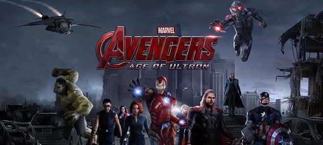 'Vingadores: A Era de Ultron': Numero 1 nos EUA com US$ 187,6 milhões