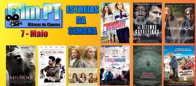 Estreias de Filmes da Semana: 7 de maio de 2015