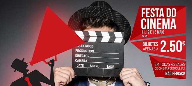 Bilhetes a 2,5 euros na primeira Festa do Cinema em Portugal