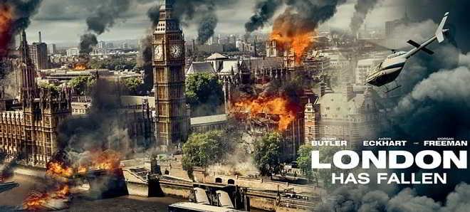 Divulgadas novas artes promocionais de 'London Has Fallen'