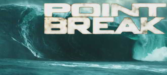 Divulgado o primeiro poster e trailer do remake 'Point Break'