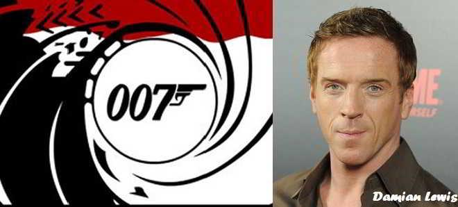 Apostadores ingleses querem Damian Lewis como futuro James Bond