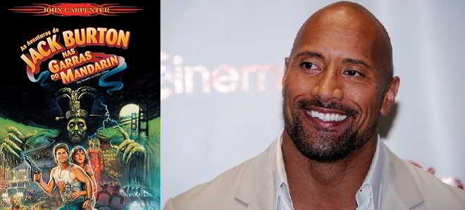 Dwayne Johnson poderá protagonizar o remake de 'Big Trouble in Little China'