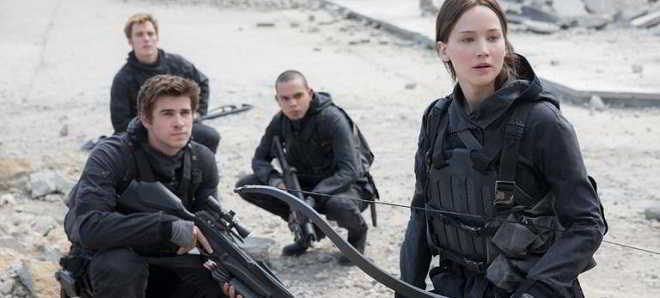 Jennifer Lawrence revela imagem de 'The Hunger Games: A Revolta - Parte 2'