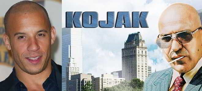 Vin Diesel vai protagonizar a adaptação da série de TV 'Kojak'