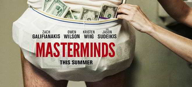 Masterminds posters