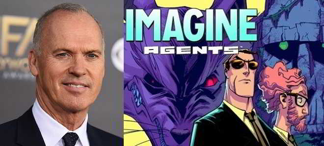 Michael Keaton vai produzir e protagonizar 'Imagine Agents'