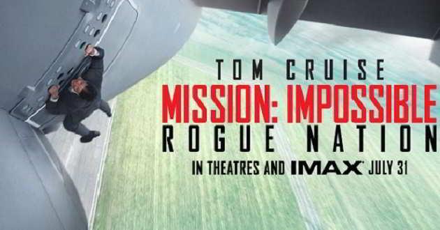 Divulgadas novas imagens de 'Missão Impossível: Nação Secreta'
