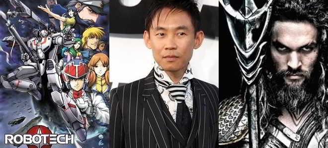 James Wan confirmado para realizar 'Aquaman' e 'Robotech'