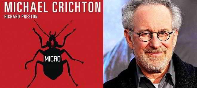 Steven Spielberg vai desenvolver a adaptação cinematográfica de 'Micro'