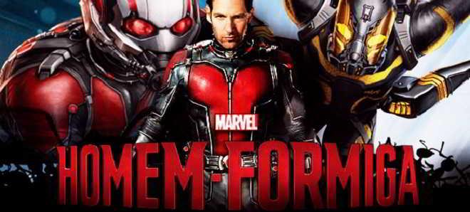 Marvel divulgou três novos posters de 'Homem-Formiga'