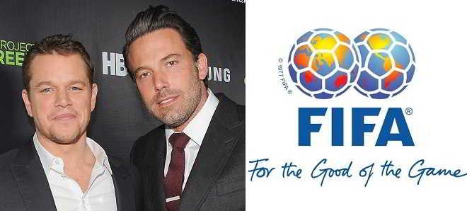 Ben Affleck e Matt Damon vão produzir filme sobre a corrupção na FIFA
