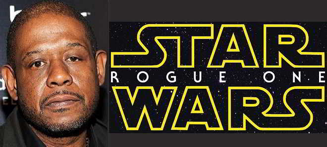 Forest Whitaker apontado para o elenco de 'Star Wars Anthology – Rogue One'