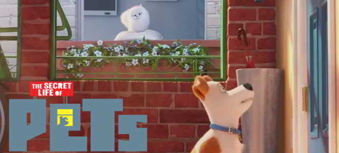 Poster e teaser trailer da animação 'The Secret Life of Pets'