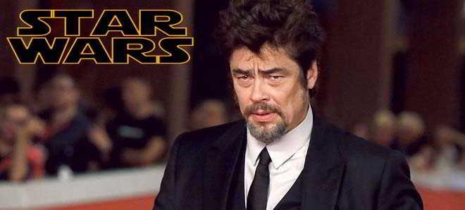 Benicio Del Toro poderá ser o novo vilão em 'Star Wars: Episode VIII'