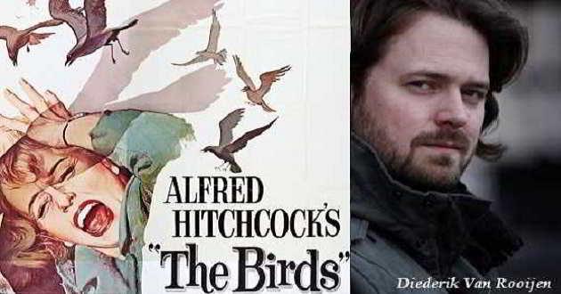 Remake de 'Os Pássaros' vai ser realizado por Diederik Van Rooijen