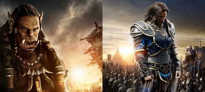Comic-Con: Divulgados dois novos posters de 'Warcraft'