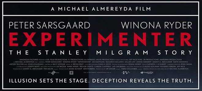 Peter Sarsgaard e Winona Ryder no novo trailer de 'Experimenter'