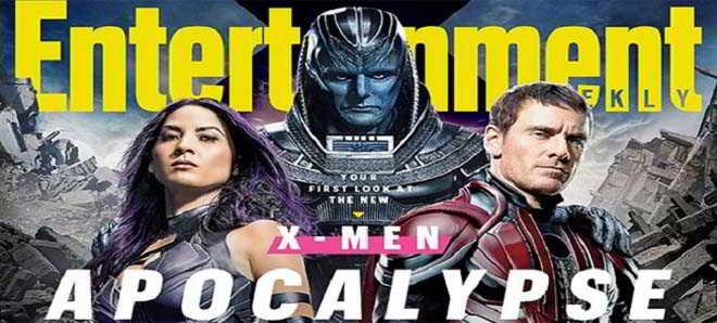 Divulgadas nova série de imagens de 'X-Men: Apocalypse'
