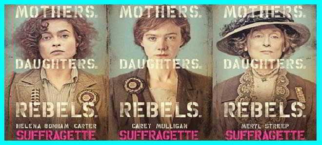 'As Sufragistas': Veja os primeiros posters oficiais