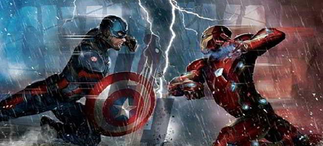 Imagens dos dois lados da batalha de 'Captain America: Civil War'