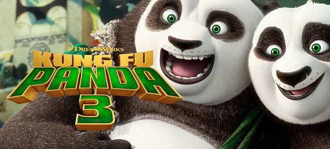 Foi divulgado o primeiro poster da animação 'O Panda do Kung Fu 3'