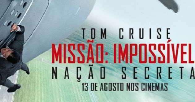 Box Office EUA: 'Missão Impossível: Nação Secreta'  estreia-se no 1º lugar