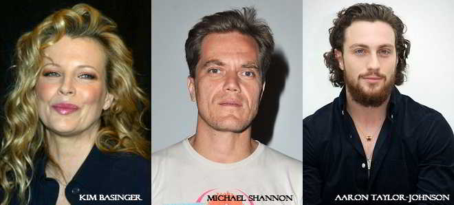 'Nocturnal Animals': Kim Basinger, Michael Shannon e Aaron Taylor-Johnson no elenco