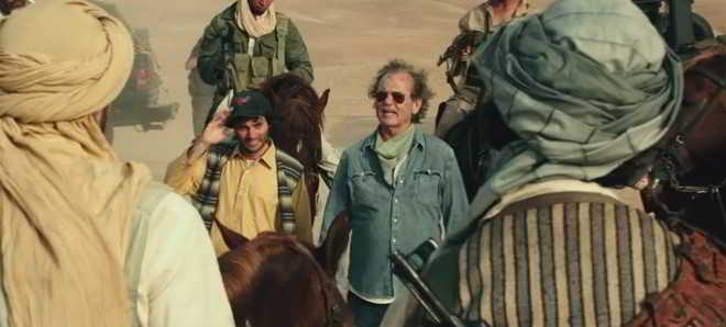 Assista ao novo trailer da comédia 'Rock the Kasbah', com Bill Murray