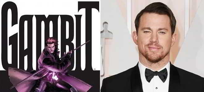 Já é oficial. Channing Tatum vai ser o mutante 'Gambit'