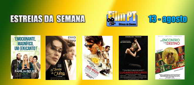 Estreias de Filmes da Semana: 13 de agosto de 2015