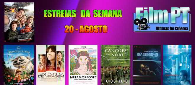 Estreias de Filmes da Semana: 20 de agosto de 2015