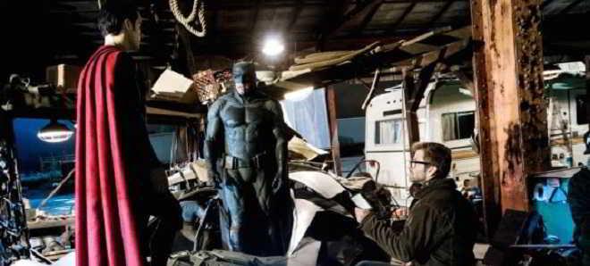 Reveladas fotos inéditas de 'Batman v Super-Homem: O Despertar da Justiça'