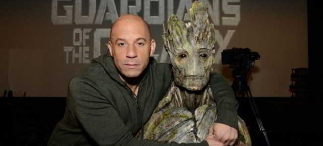 Vin Diesel volta a dar voz a Groot em 'Guardiões da Galáxia 2'