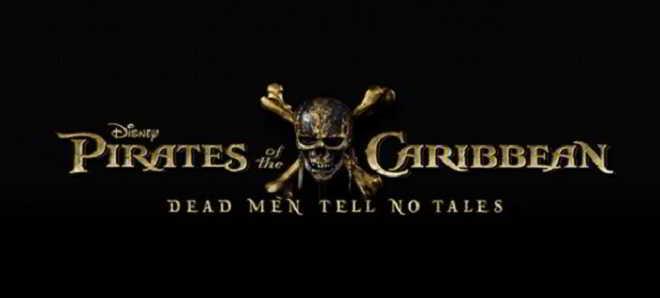 Revelado o logo oficial do quinto filme da franquia Piratas das Caraíbas