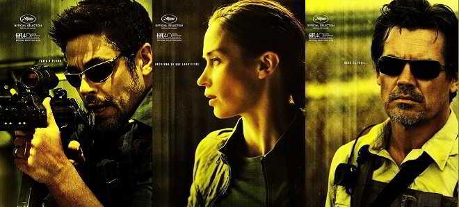 Poster individuais de de 'Sicario - Infiltrado' e terceiro trailer oficial