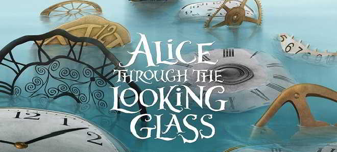 Disney divulgou teasers posters de 'Alice Through the Looking Glass'