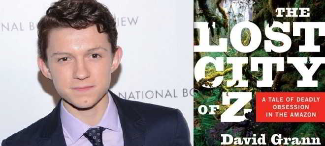 Tom Holland junta-se ao elenco de 'The Lost City Of Z'