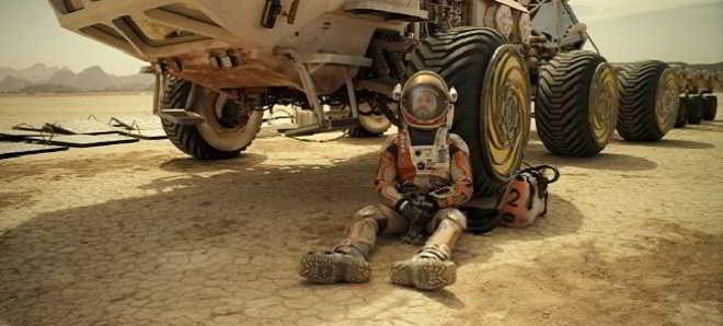 Disponível o segundo trailer em português de 'Perdido em Marte'