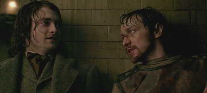 'Victor Frankenstein': Trailer em português com James McAvoy e Daniel Radcliff