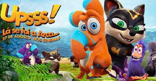 Assista ao trailer dobrado em português da animação 'Upss! Lá Se Foi a Arca...'