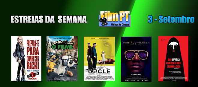 Estreias de Filmes da Semana: 3 de setembro de 2015
