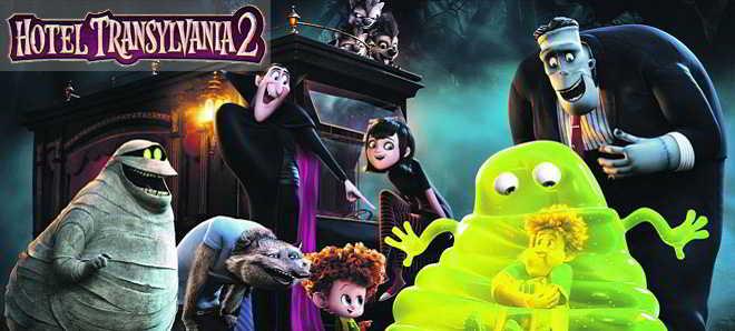 Nove posters individuais da animação 'Hotel Transylvania 2'