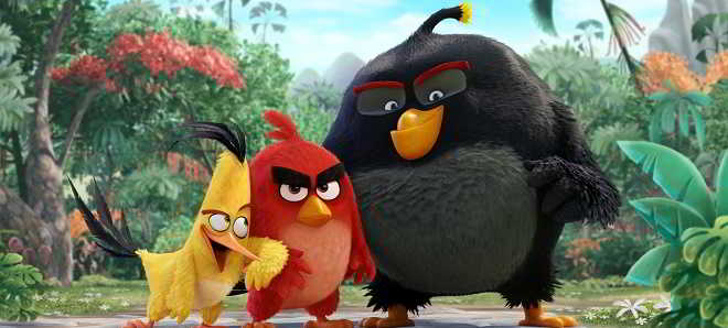 Divulgadas novas imagens da animação 'Angry Birds - O Filme'