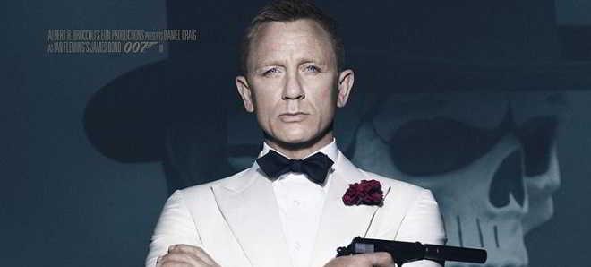 Divulgado um novo poster de '007 - Spectre', com Daniel Craig