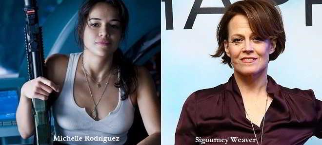 Michelle Rodriguez e Sigourney Weaver no thriller 'Tomboy, A Revenger's Tale'